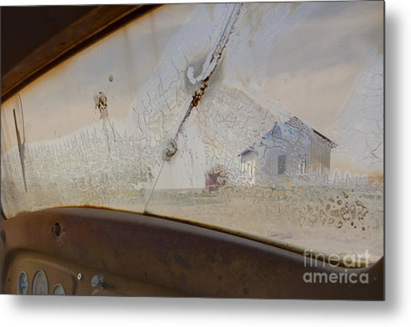 Metal Print featuring the photograph Forsaken by Angela Moyer