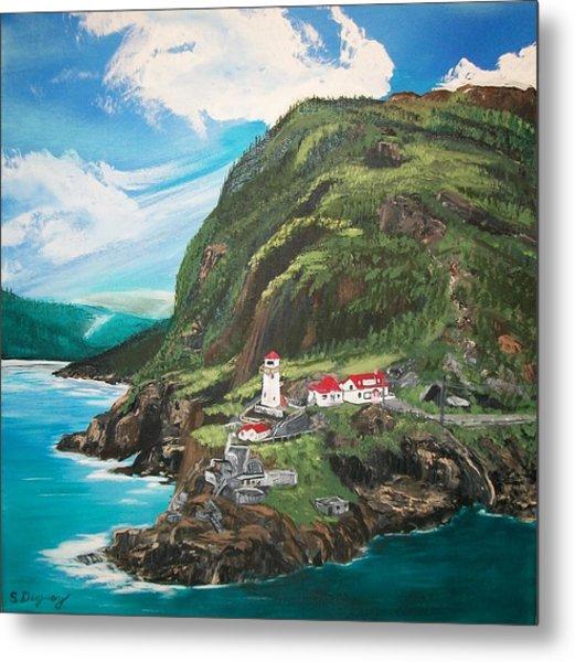 Fort Amherst Newfoundland Metal Print