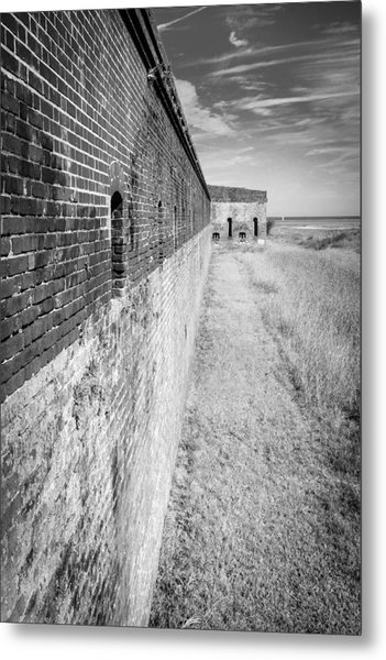 Fort Clinch II Metal Print