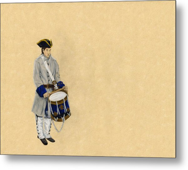 Fort Toulouse Drummer Boy Metal Print by Beth Parrish