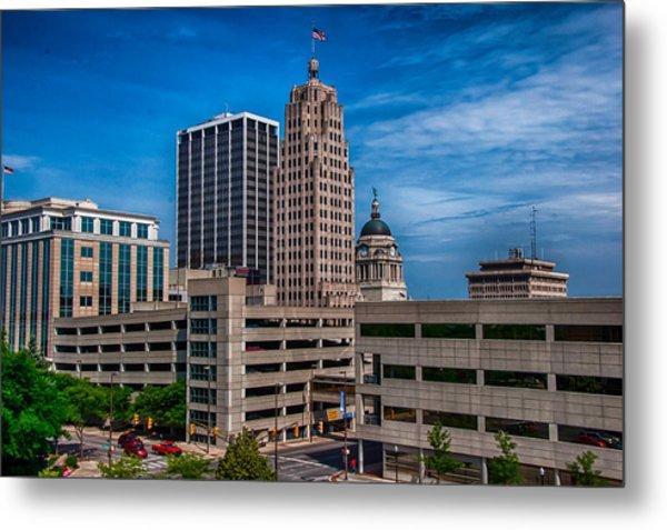 Fort Wayne Skyscrapers Metal Print