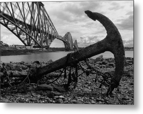 Forth Bridge Anchor Metal Print