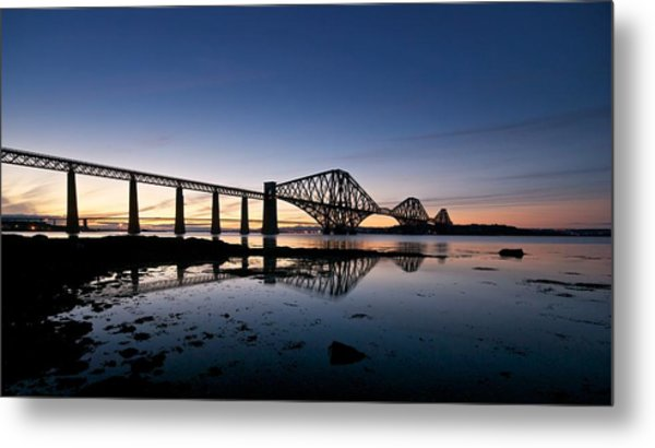 Forth Rail Bridge Metal Print