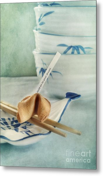 Fortune Cookie Metal Print