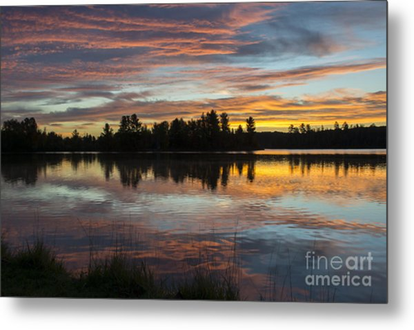 Fortune Lake Metal Print