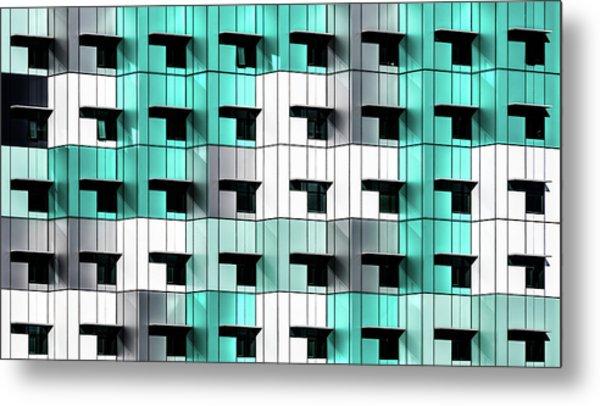 Forty Windows Metal Print by Wayne Pearson