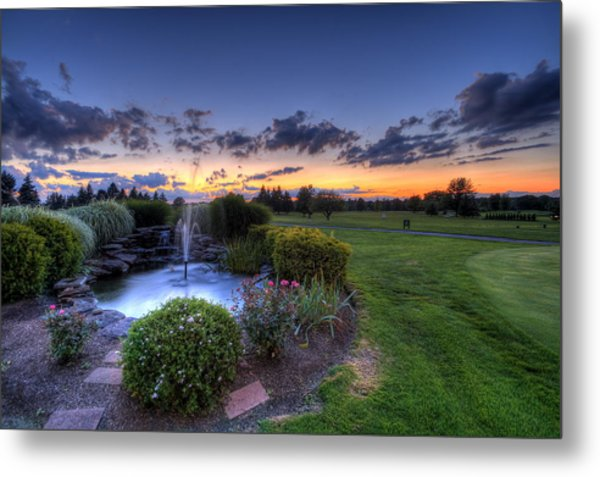 Salem Ohio Golf Metal Print