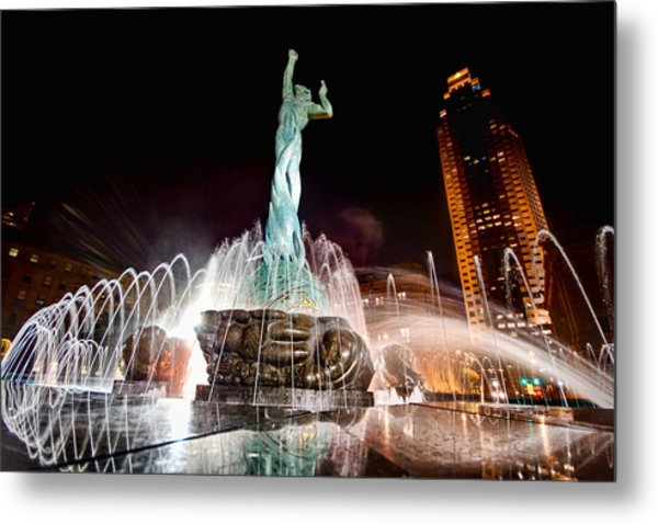Fountain Of Eternal Life Metal Print