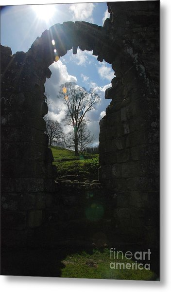 Fountains Abbey Metal Print