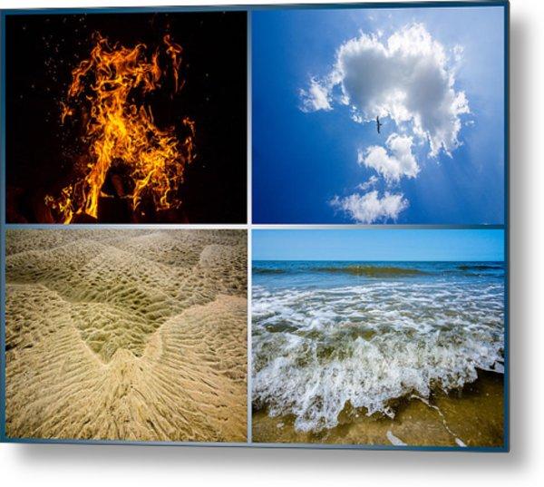 Four Elements Metal Print by Martin Liebermann