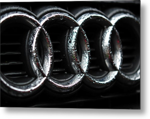 Four Rings Metal Print