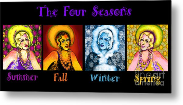 Four Seasons In A Row Metal Print