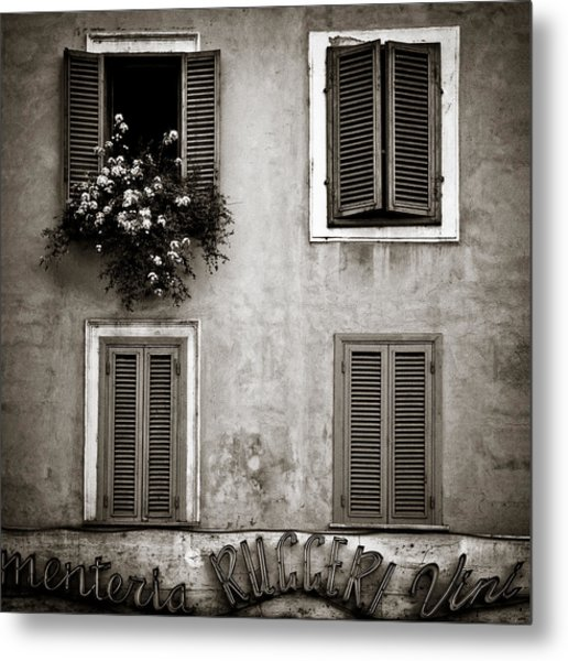 Four Windows Metal Print