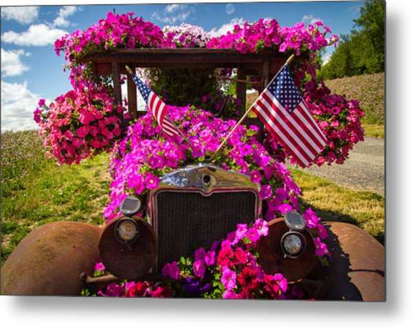 Fourth Of July Color Metal Print