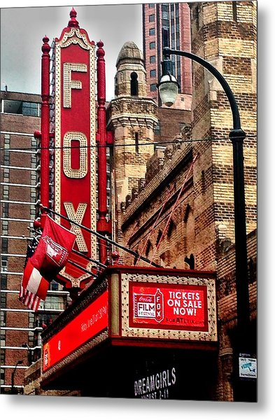 Fox Theater - Atlanta Metal Print
