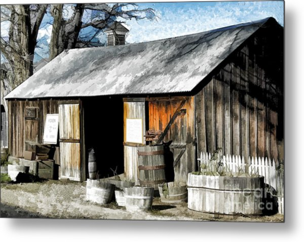 Foxen Winery Metal Print