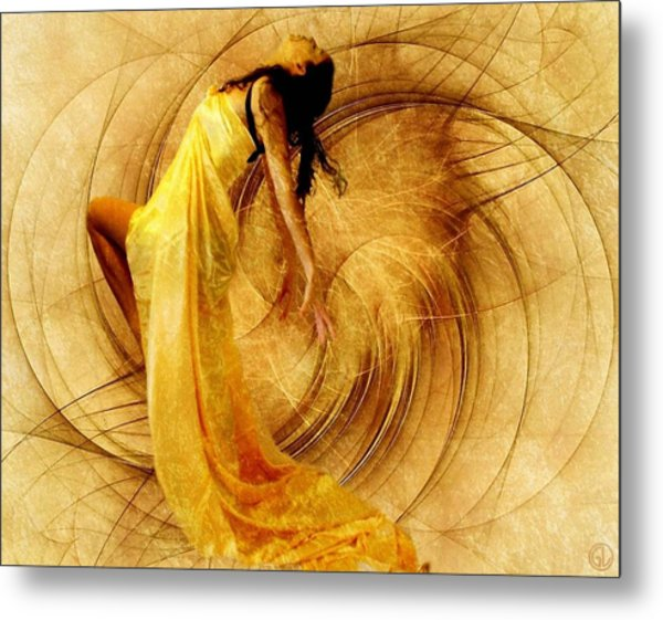 Fractal Dance Of Joy Metal Print