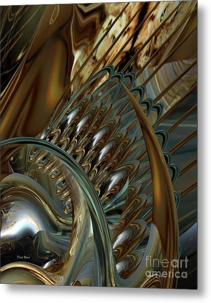 Fractals Metal Print by Doris Wood