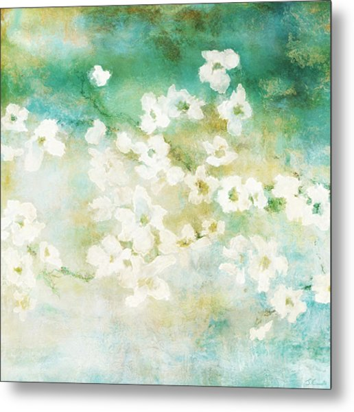 Fragrant Waters - Abstract Art Metal Print