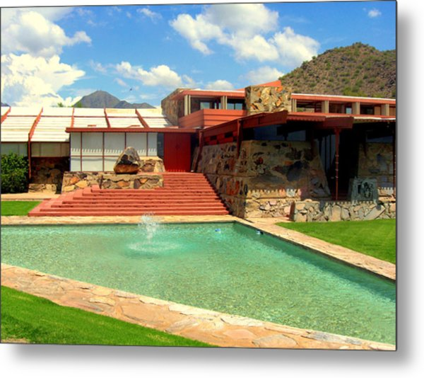 Frank Lloyd Wright - Taliesin West Metal Print