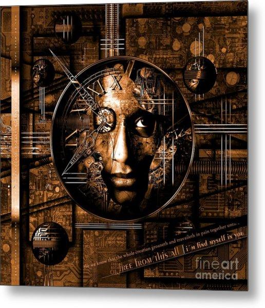 Franziskus Metal Print
