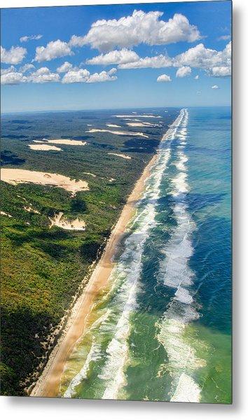 Fraser Island. Queensland Australia Metal Print