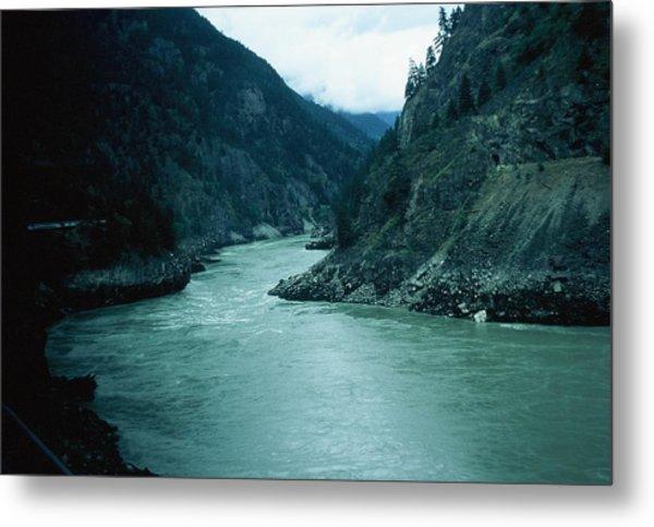 Fraser River Metal Print by Dick Willis
