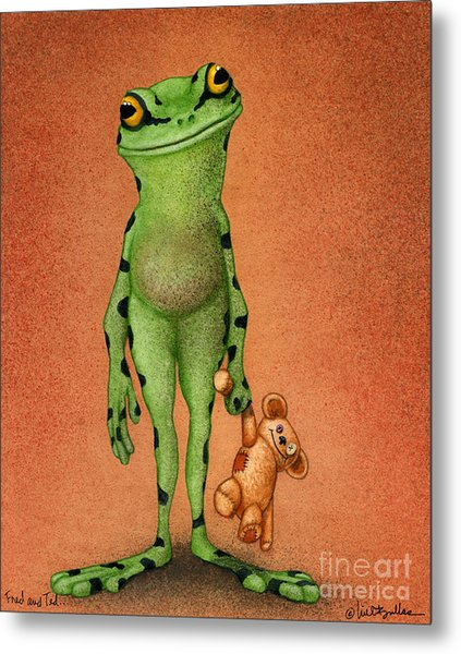 Fred And Ted... Metal Print
