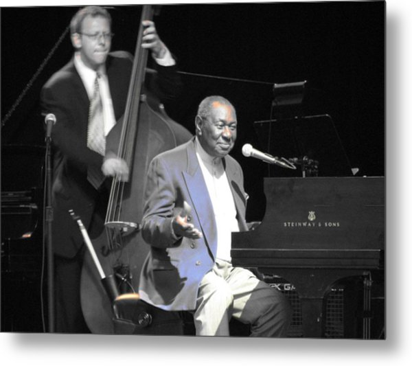 Freddy Cole And Elias Bailey Metal Print by Cleaster Cotton
