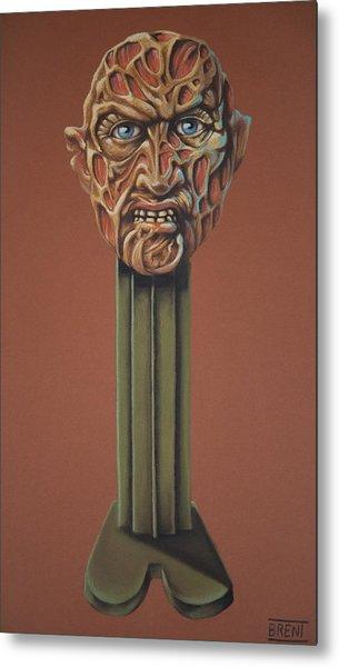 Freddy Krueger  Metal Print by Brent Andrew Doty