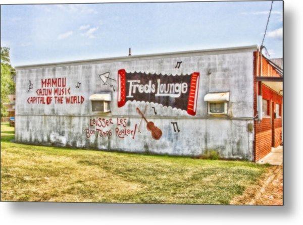 Fred's Lounge Metal Print