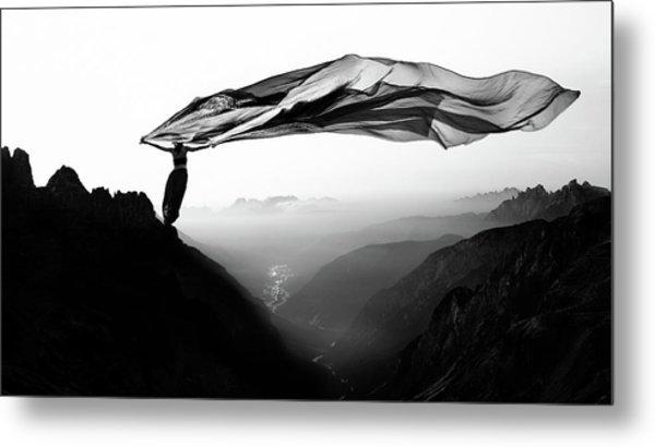 Free As The Wind Metal Print