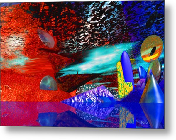 Free Association 1 Metal Print by Phillip Mossbarger