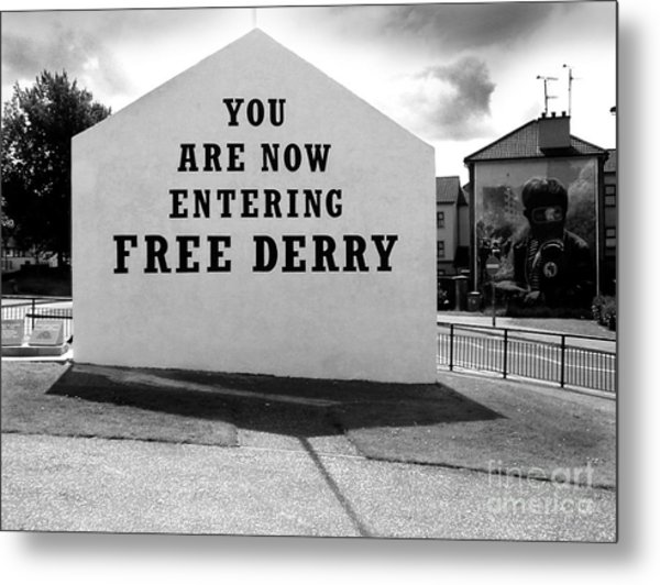 Free Derry Corner 9 Metal Print