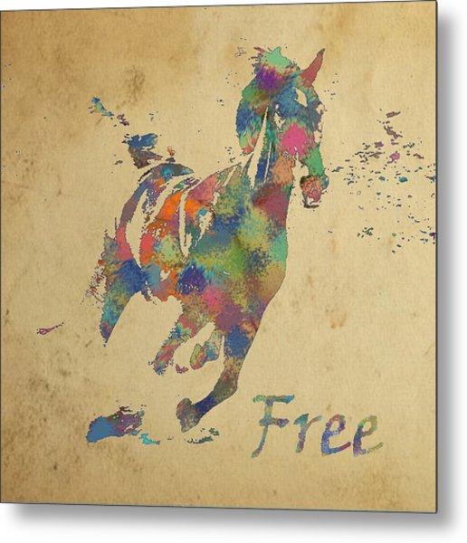 Free Metal Print by Soumya Bouchachi