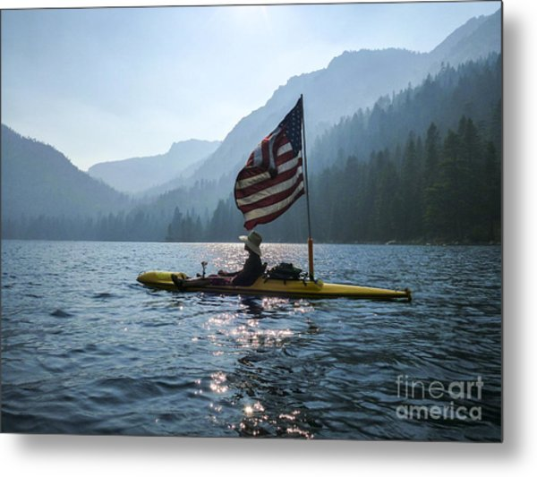Freedom Of The Sierras Metal Print by Cheryl Wood