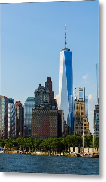 Freedom Tower 2 Metal Print