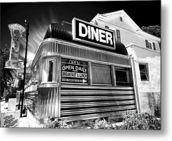 Freehold Diner New Jersey Metal Print