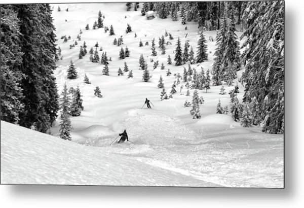 Freeriders Metal Print
