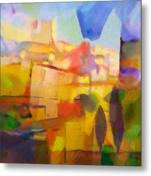 French Abstract Metal Print