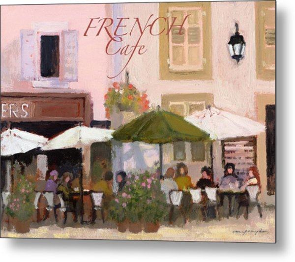 French Country Poster Metal Print