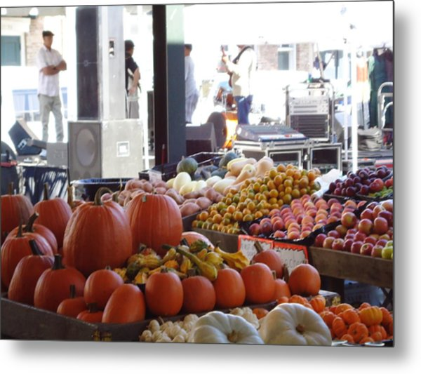 French Market - New Orleans Metal Print by Katie Spicuzza