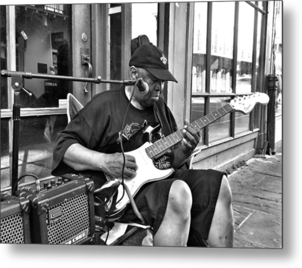 French Quarter Blues Metal Print by Mike Barch