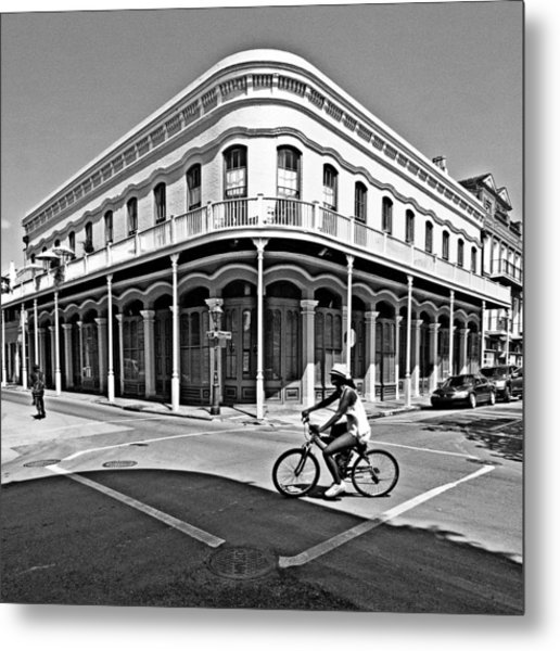 French Quarter Connection Metal Print