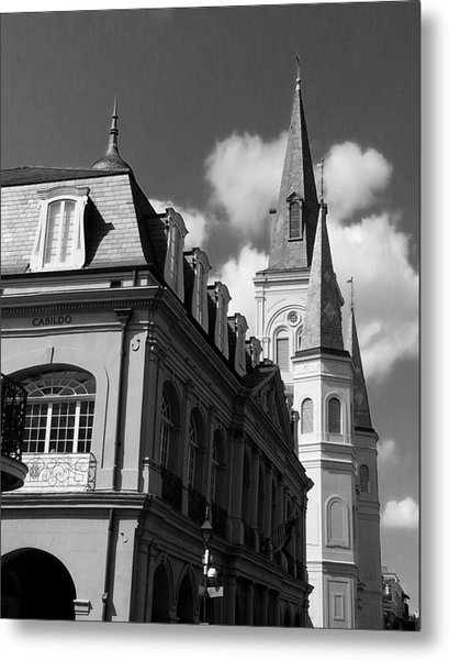 French Quarter - New Orleans Metal Print by Mike Barch