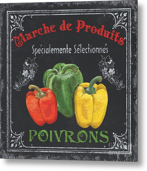 French Vegetables 3 Metal Print