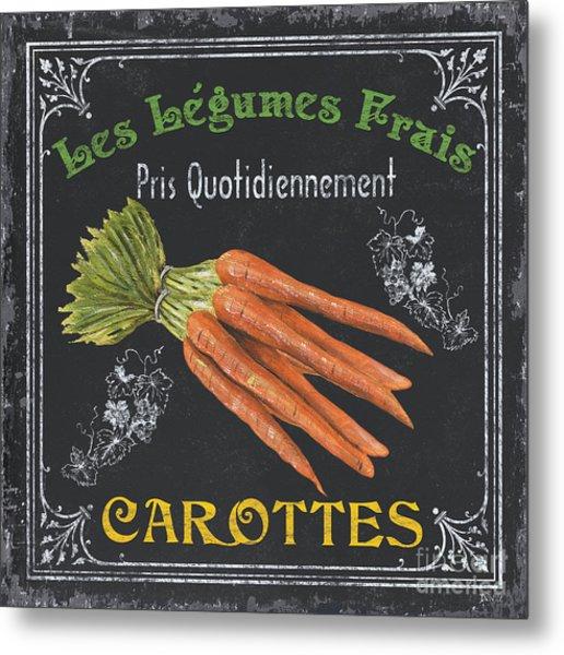 French Vegetables 4 Metal Print