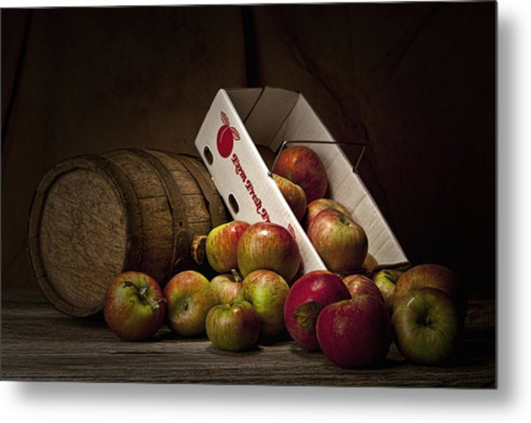 Fresh From The Orchard I Metal Print