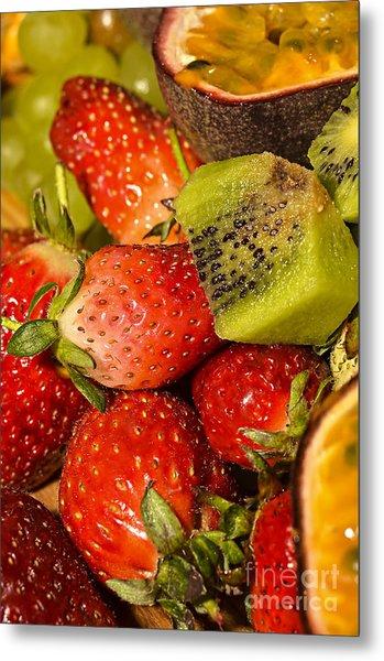 Fresh Fruit Salad Metal Print