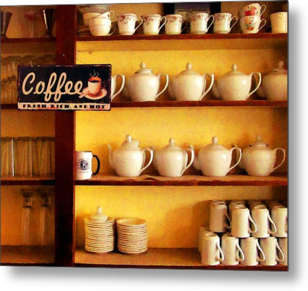 Fresh Rich And Hot Metal Print by Timothy Bulone